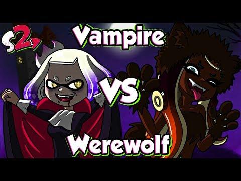 ABM: Vampire Vs Werewolf !! Splatfest Splatoon 2!! EXCITEMENT MATCH!! HD