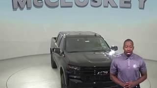 190334 New 2019 Chevrolet Silverado 1500 LT 4WD Black Z71 Crew Cab Review, For Sale -