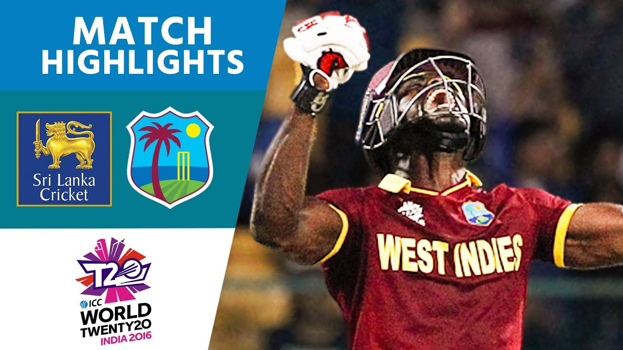 Icc Wt20 Sri Lanka Vs West Indies Match Highlights