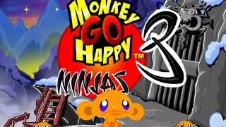 Monkey GO Happy Ninjas 3 Walkthrough