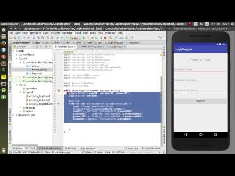Login dan Register Android dengan Database Php Mysql PART 1