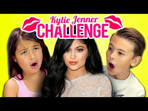 Thumbnail: Kids React to Kylie Jenner Lip Challenge