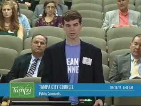 Tampa City Council Oct 19 public comments