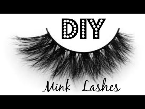 DIY Faux Mink Lashes - Stacking Lashes