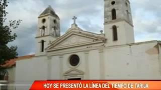 HOY SE PRESENTO LA LINEA DEL TIEMPO DE TARIJA