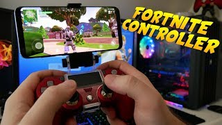 Finally ripping FORTNITE MOBILE with CONTROLLER! I'll show you how it's done!