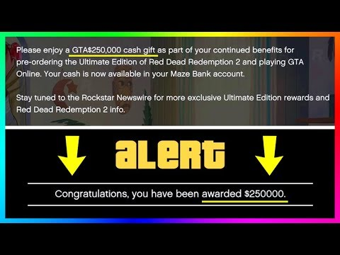 Rockstar Giving Out MORE FREE Money In GTA Online! (Bonus Cash)