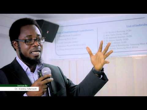 Financial Services Marketing S1 - An Introduction and Ghana Context