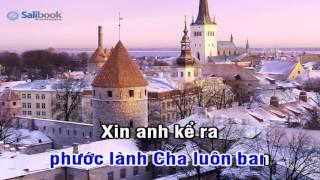 [Karaoke TVCHH] 194- HÃY ĐẾM CÁC PHƯỚC CHÚA BAN - Salibook