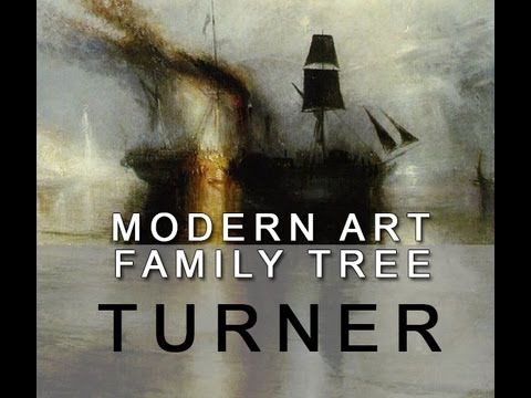 Modern Art Family Tree: 011 Turner