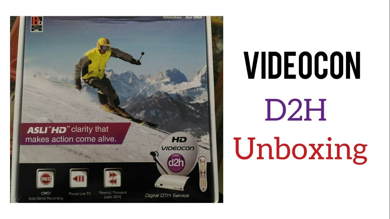 videocon d2h setup box manual storage