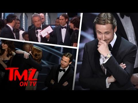 Ryan Gosling's Reaction To Oscars Screw Up Is Priceless | TMZ TV