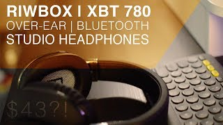 Video Riwbox XBT-780 | Bluetooth studio headphones under $50! download MP3, 3GP, MP4, WEBM, AVI, FLV Juli 2018