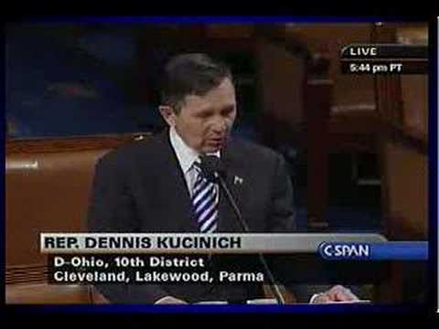 Kucinich: Articles of Impeachment 11.