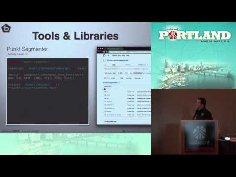 Rails Conf 2013 Natural Language Processing with Ruby by Brandon Black