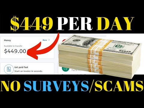 Make Money Online Free No Scams No Surveys - Earn $449 in 15 MINS