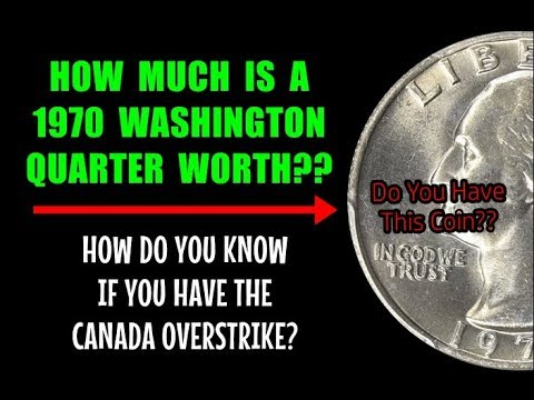 How Much Is A 1970 Washington Quarter Worth? - Do You Have This Coin?