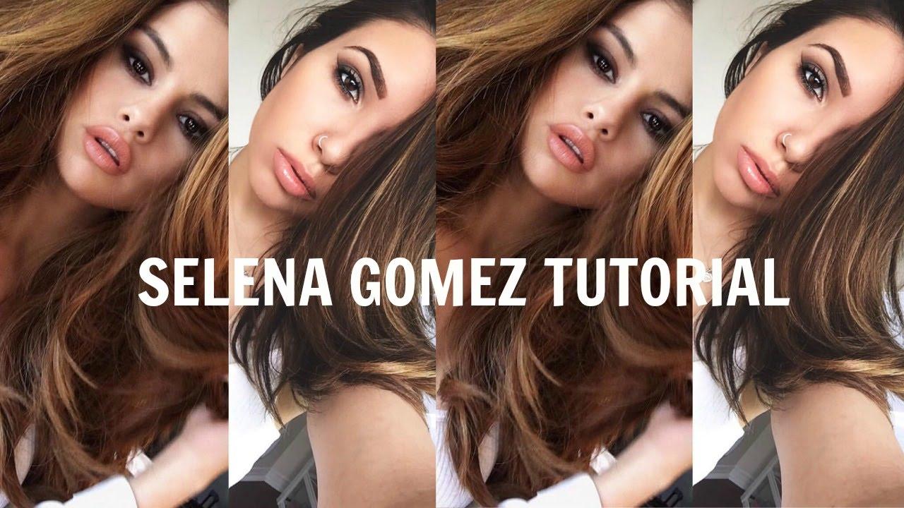 Get The Look Selena Gomez Smokey Eye Tutorial Youtube