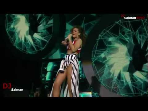 Rihanna - We Found Love and Lady Gaga (2011 Grammy Nominations Concert Live performance) VEVO