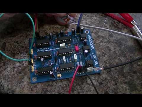 Harmonic Engine PCB - E&MM Harmony Generator clone: Test1