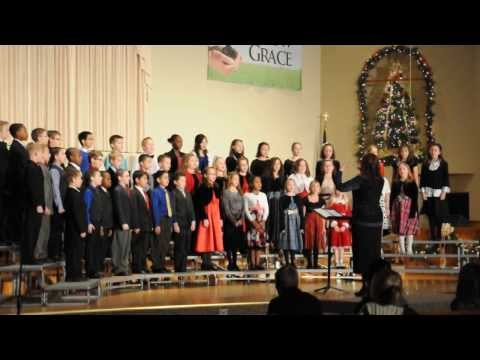 How Should a King Come?  sung by Sarah and her 4th grade classmates