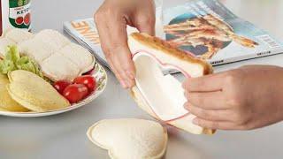 Cách làm Bento bánh mỳ sandwich hình trái tim