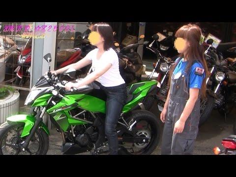 201607 女性ライダー Z250SL 納車&バイク神社