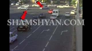 ԲԱՑԱՌԻԿ ՏԵՍԱՆՅՈՒԹ՝ «Մետրոպոլ» հյուրանոցի դիմաց  BMW ն ու Mercedes ըի բախումից