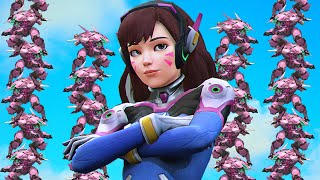 D.VA STACK - 12 DVa! | Overwatch Science Episode 2: