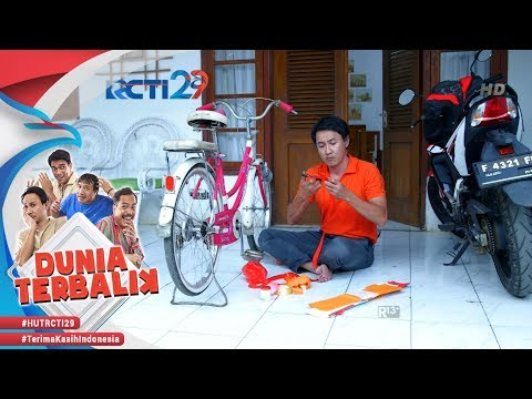 DUNIA TERBALIK - Serunya Akum Menghias Sepeda Untuk Febri [17 Agustus 2018] thumbnail