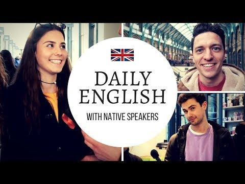 Real English Conversations In London