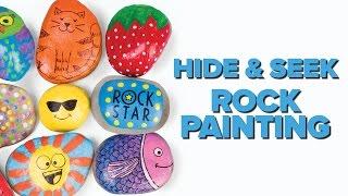 Hide & Seek Rock Painting by Creativity for Kids