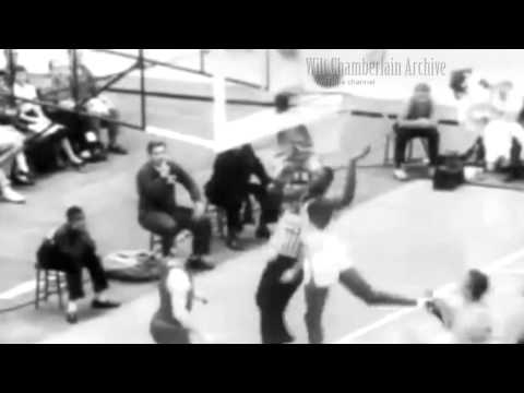 Four point plays by George Mikan, Bill Russell, Gus Johnson and Wilt Chamberlain