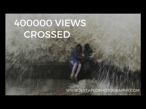 High Tide in Mumbai Slow Motion GoPro