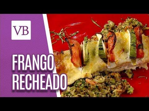Frango Recheado Saudável  - Você Bonita (23/05/18)