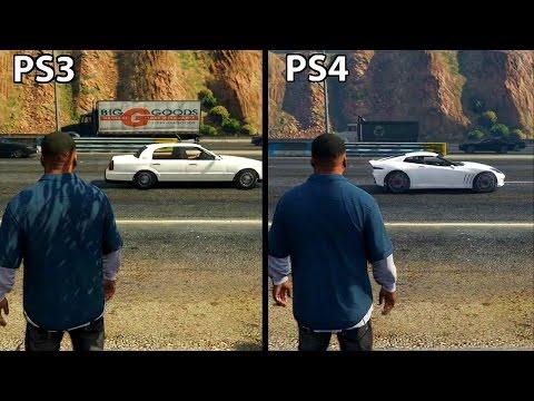 GTA 5 - PS4 Vs PS3 ГРАФИКА (2017)