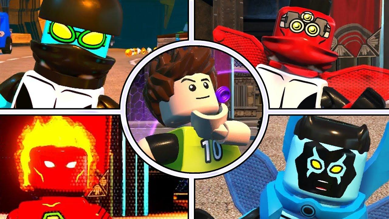 Ben 10 Lego Ben 10 Customs Youtube