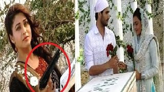 Qubool Hai: Misbah comes with gun to kill Shaad
