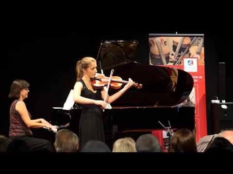 """F.Kreisler:  """"Tambourin chinois"""" für Violine und Klavier op. 3, Sulic Eva"""