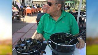 WERELDS! Jan Boskamp eet pan mosselen in 5 minuutjes leeg  - VI ORANJE BLIJFT THUIS