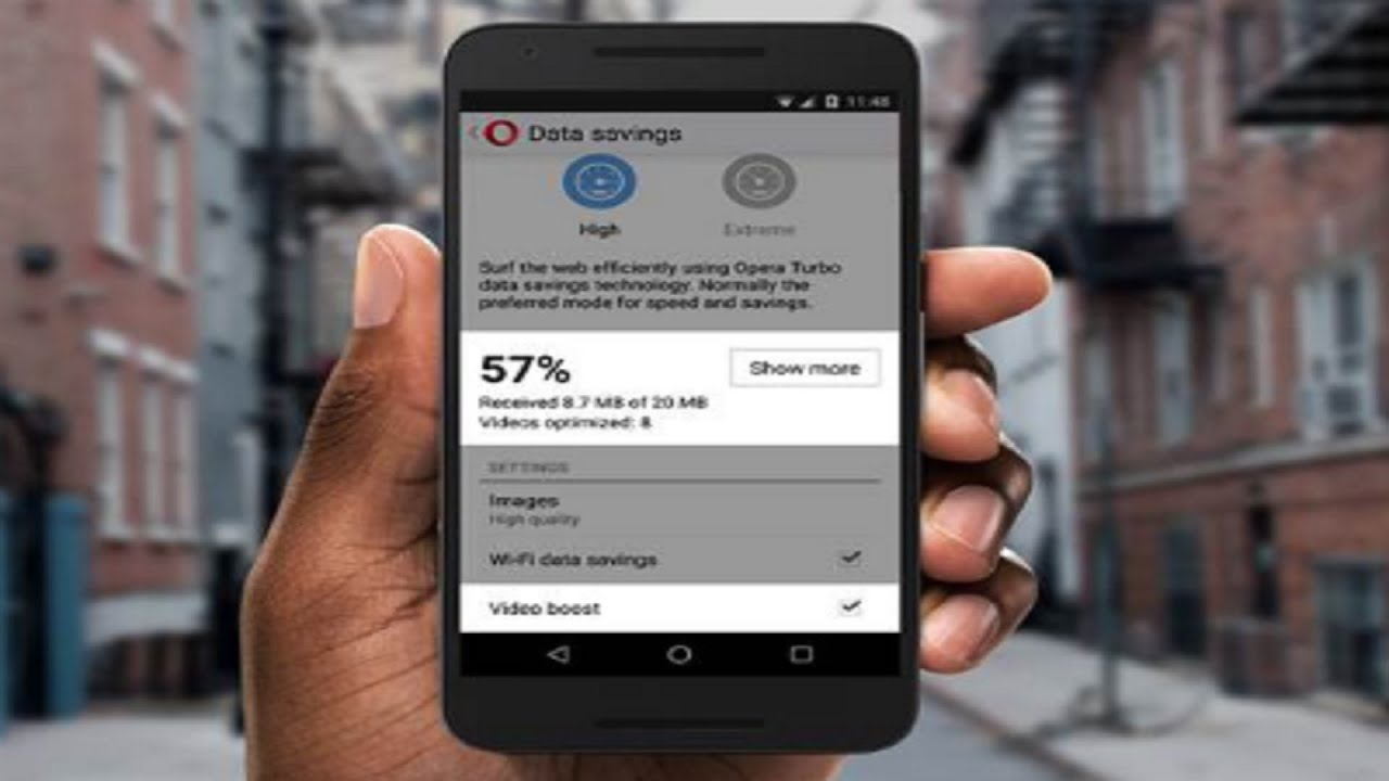 opera mini android browser video boost feature launched youtube