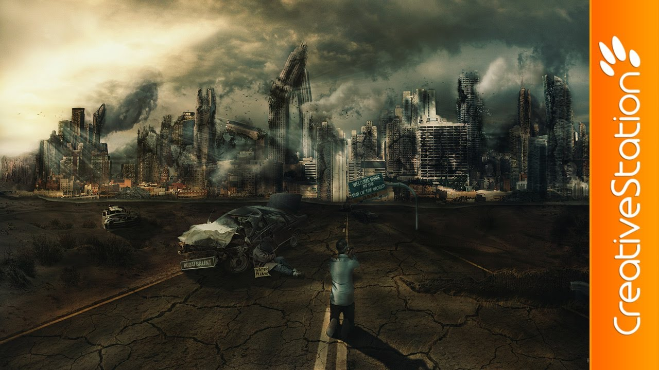 Welcome at The End of The World - Speed art ( #Photoshop ) | CreativeStation - YouTube