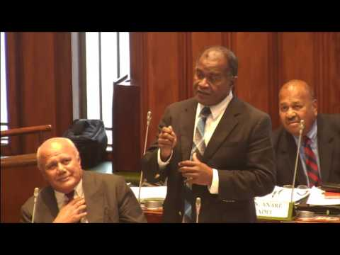 Fijian Minister for Health response on fish poisoning on Gau Island