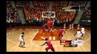 NCAA March Madness 2005 Texas A&M vs Texas Retro Gameplay