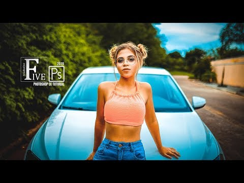 Photoshop Tutorial Orenge Yellow & Blue Color Grading in Photoshop cc Preset Free Download thumbnail
