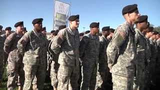 1st Infantry Division holds DIVARTY activation ceremony