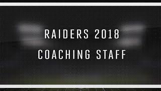 2018 Raiders Coaching Staff