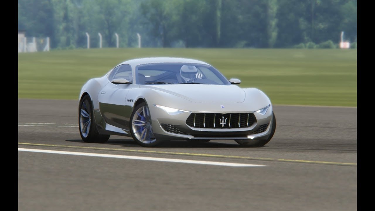 Maserati Alfieri At Top Gear Testing Youtube