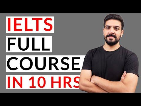 IELTS Full Course in 10 hours - 2021