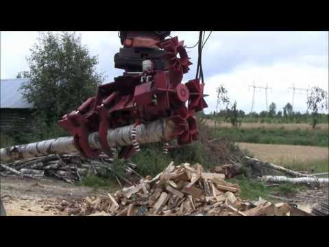 RaMeC LogSplitter - Y Raunisto Oy